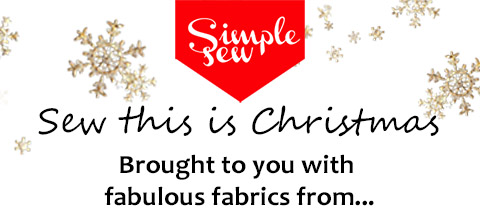 #sewthisischristmas with fabulous fabric from our sponsors