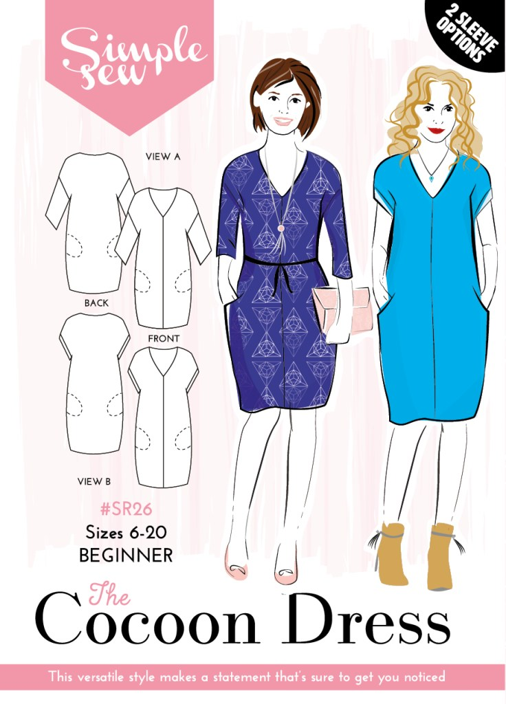 Cocoon Dress Hack by Susan Young