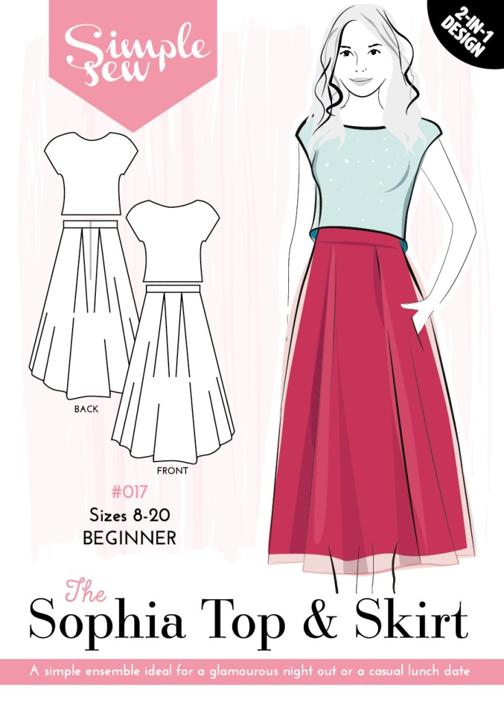 Sophia Skirt by The Wardrobe Architect