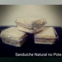 Sanduíche Natural de Pote