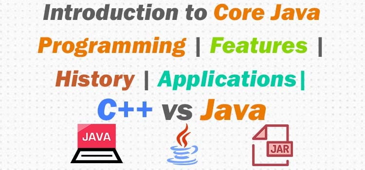 core java programming introduction