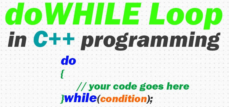 dowhile loop in c++ featured image