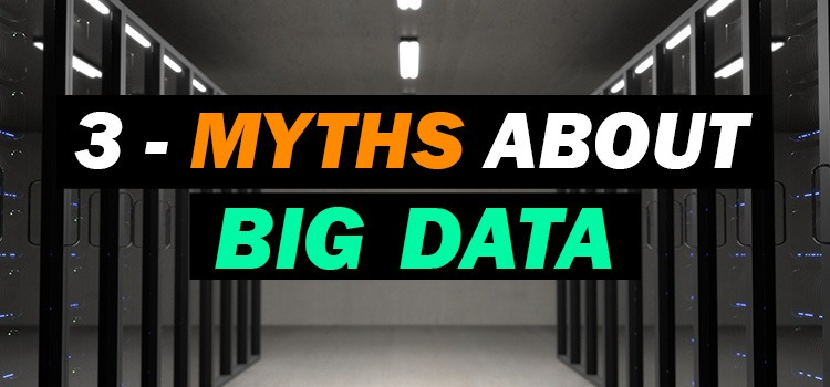 myths about big data - featured image