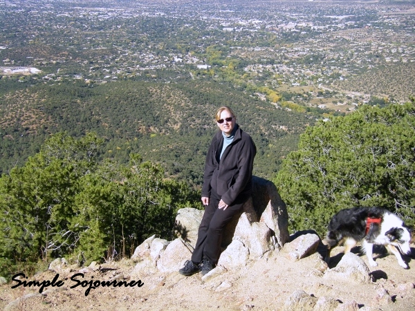 TOP OF ATALAYA MOUNTAIN