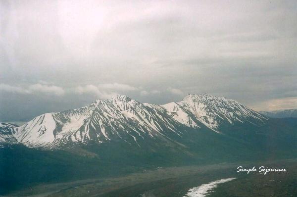 Volcanos in Wrangel St-Elias