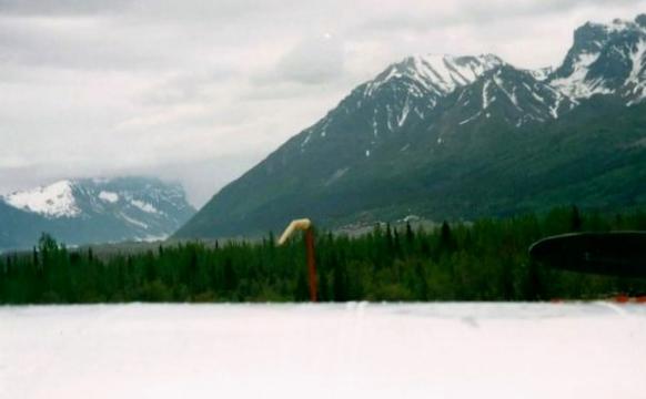 View from Gulkana Airport