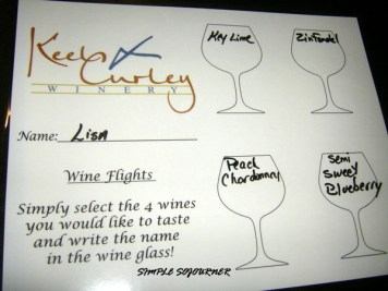 WINE FLIGHT CHOICES