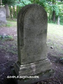 GRAVESITE OF JACOB HEYD
