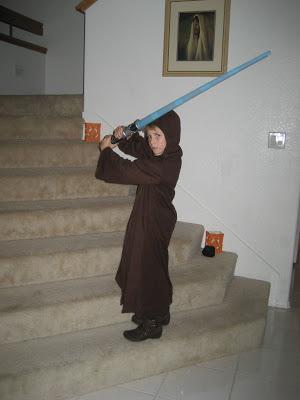 Obi-Wan Kenobe Austin Halloween 2007 - Simple Sojourns