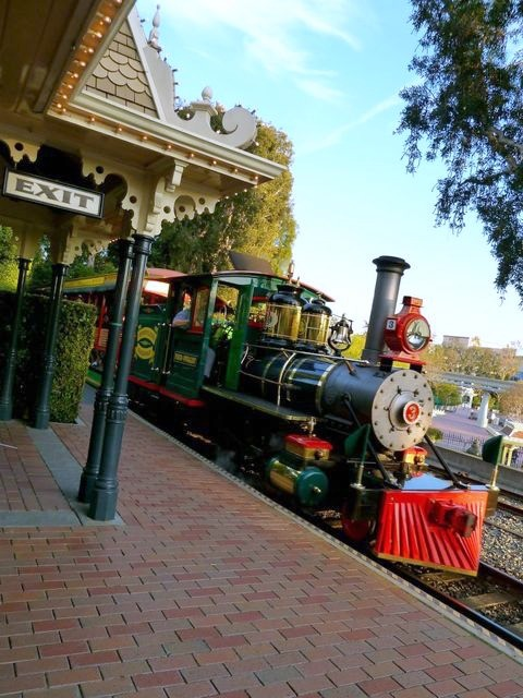 The Disneyland Railroad And Cafe Orleans Simple Sojourns