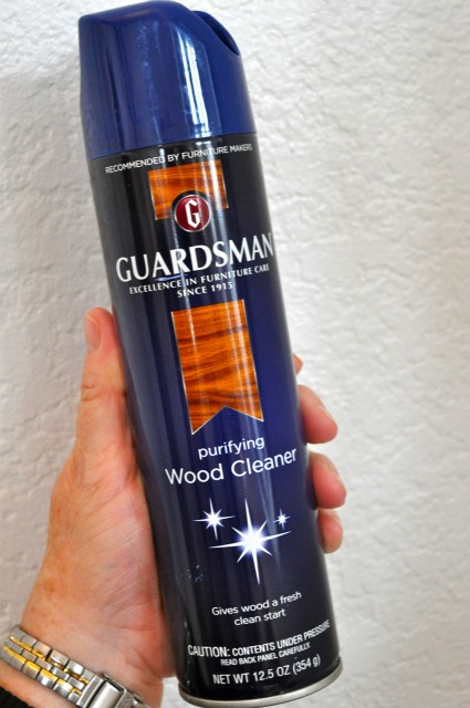 Guardsman Purifying Furniture Wood Cleaner Simple Sojourns