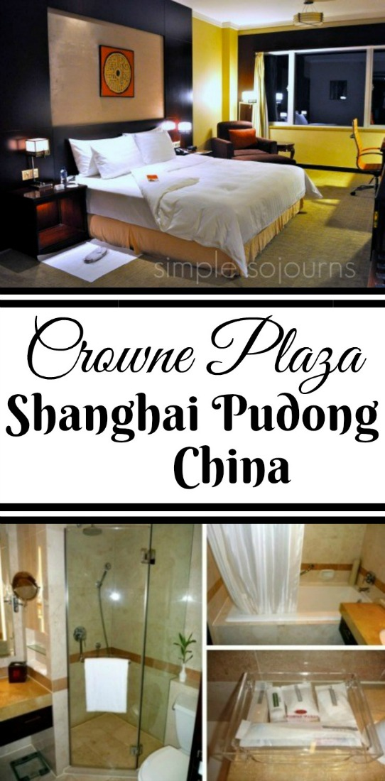 Crowne Plaza Shanghai - Simple Sojourns