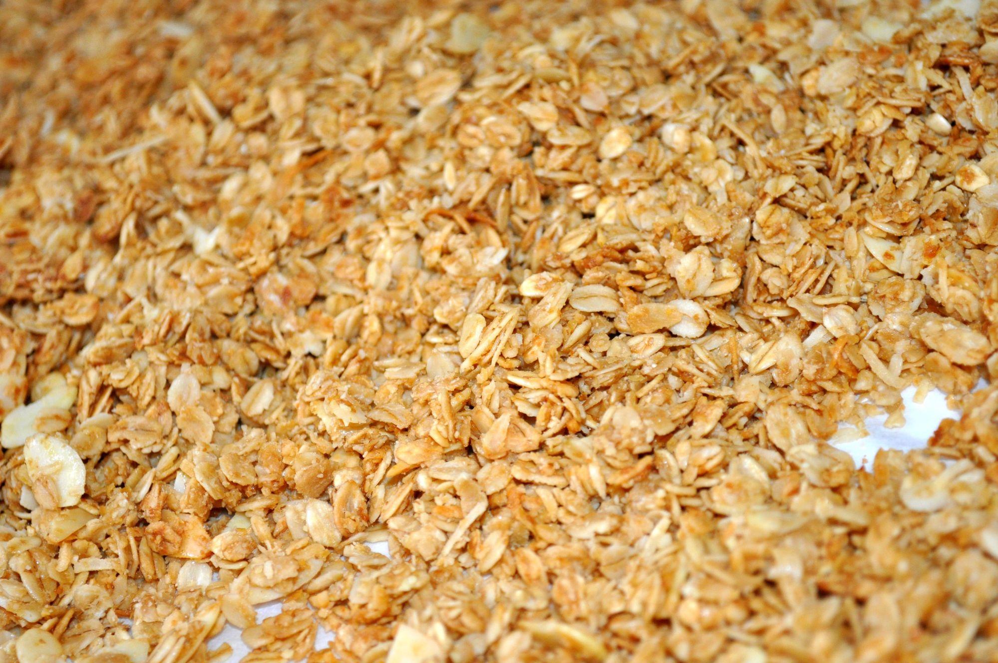 Homemade Vanilla Almond Granola - Simple Sojourns