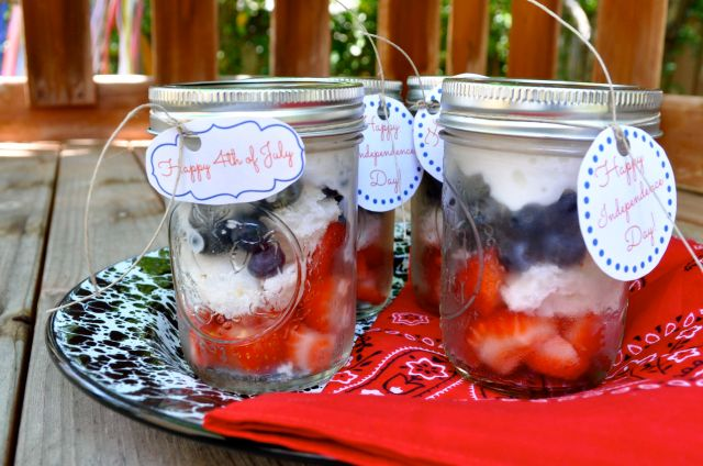 Individual Berry Shortcakes 4th of July - Simple Sojourns