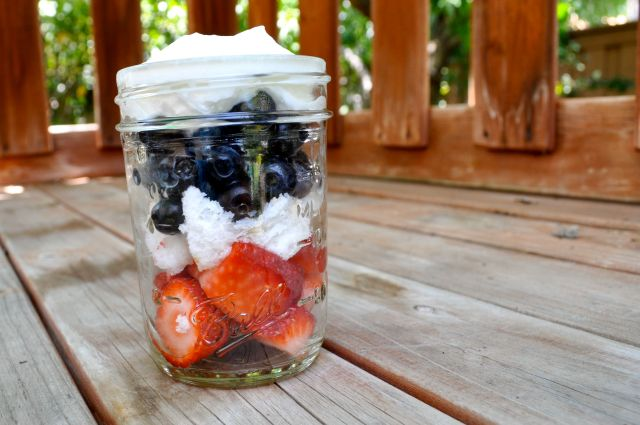 Individual Berry Shortcakes photo - Simple Sojourns