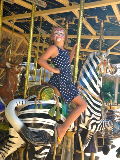 Safari Park Carousel - Simple Sojourns