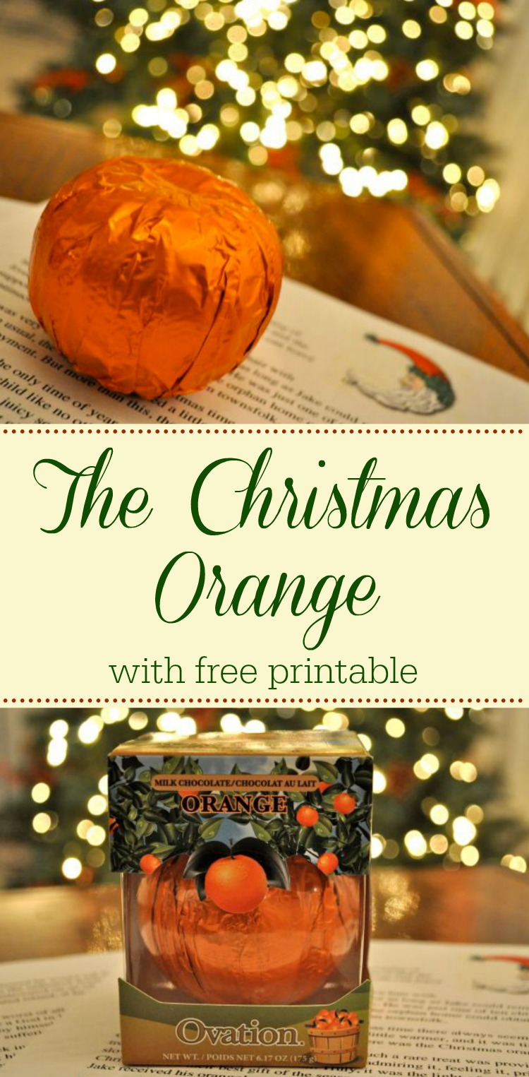 The Christmas Orange - A tender hearted story about the Spirit of Christmas - Simple Sojourns
