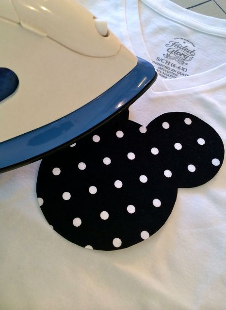 Mickey Applique Tee | Simple Sojourns