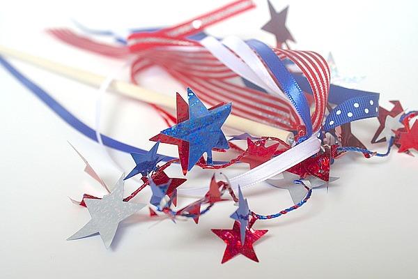 Patriotic Spirit Wands