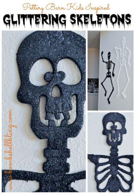 Glittering Skeletons