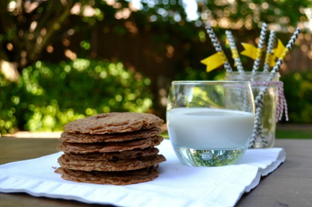Gluten Free Chocolate Chip Cookies and Milk | Simple Sojourns
