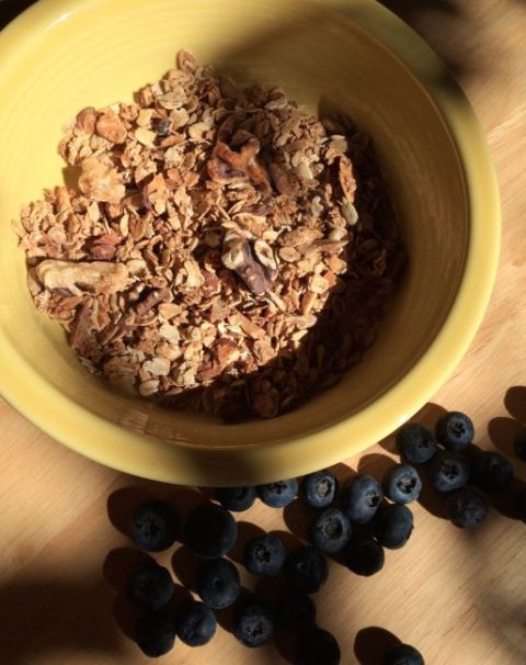 Hearty Granola - Simple Sojourns