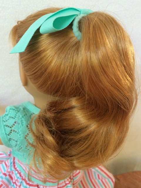 American Girl Maryellen Ponytail - Simple Sojourns