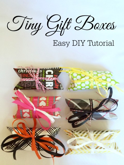 DIY Tiny Gift Boxes Tutorial - Simple Sojourns
