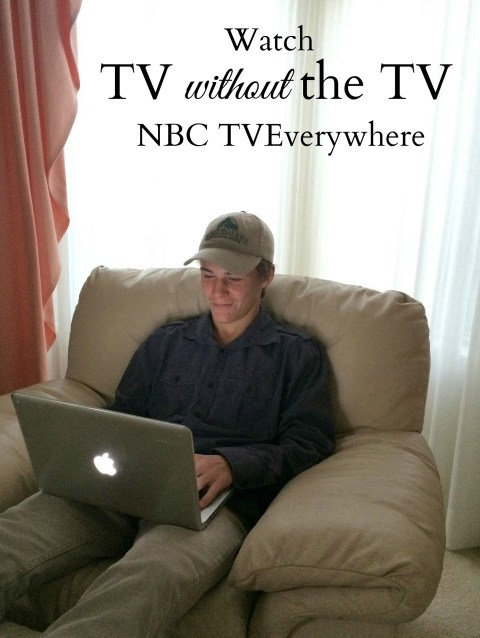 TV without the TV - Simple Sojourns