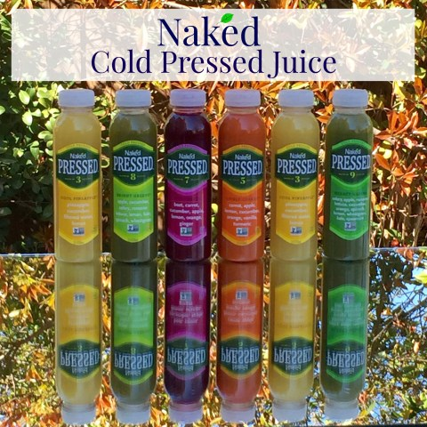 Naked Cold Pressed Juice - Simple Sojourns