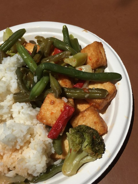 Crispy Tofu Stir fry - Simple Sojourns