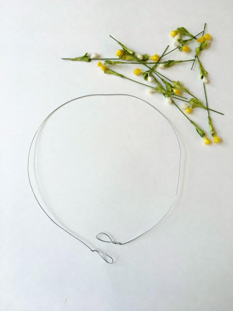 Flower Crown Wire Foundation - Simple Sojourns