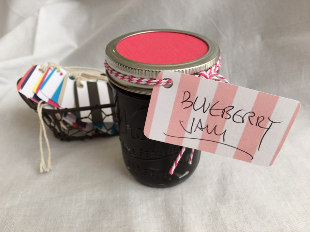 Pink Striped Gift Tag - Simple Sojourns