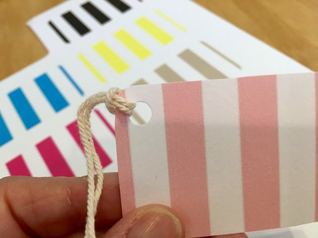 Striped Gift Tags - Simple Sojourns