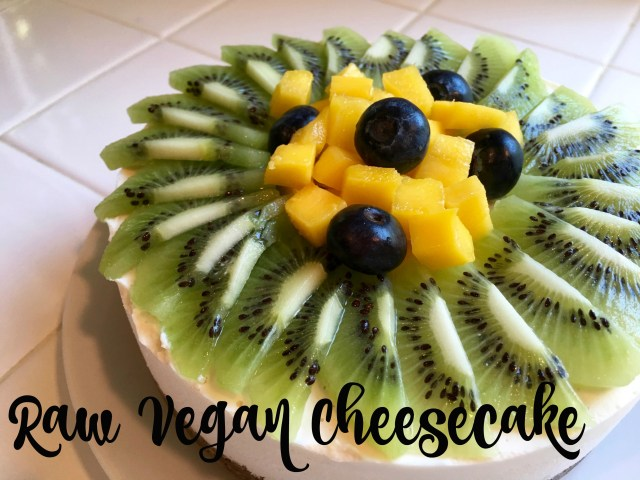Raw Vegan Cheesecake with Mango - Simple Sojourns copy