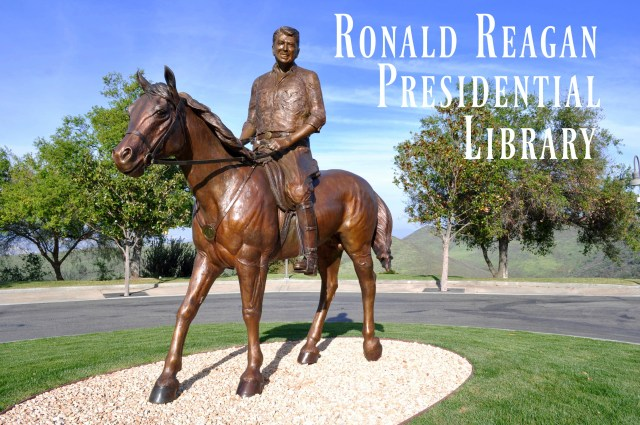 The Ronald Reagan Presidential Library Horse - Simple Sojourns