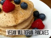 Vegan Multi-Grain Pancakes