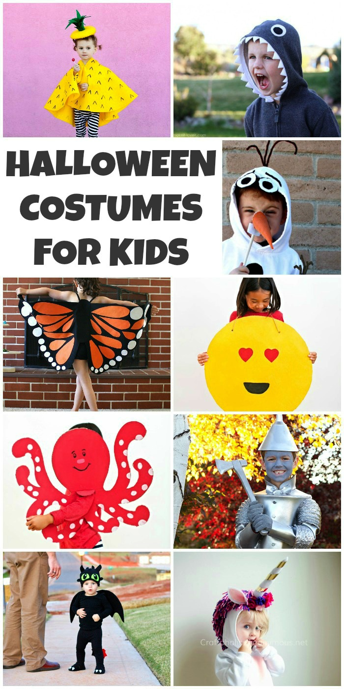 40 DIY Halloween Costumes for Kids - Simple Sojourns