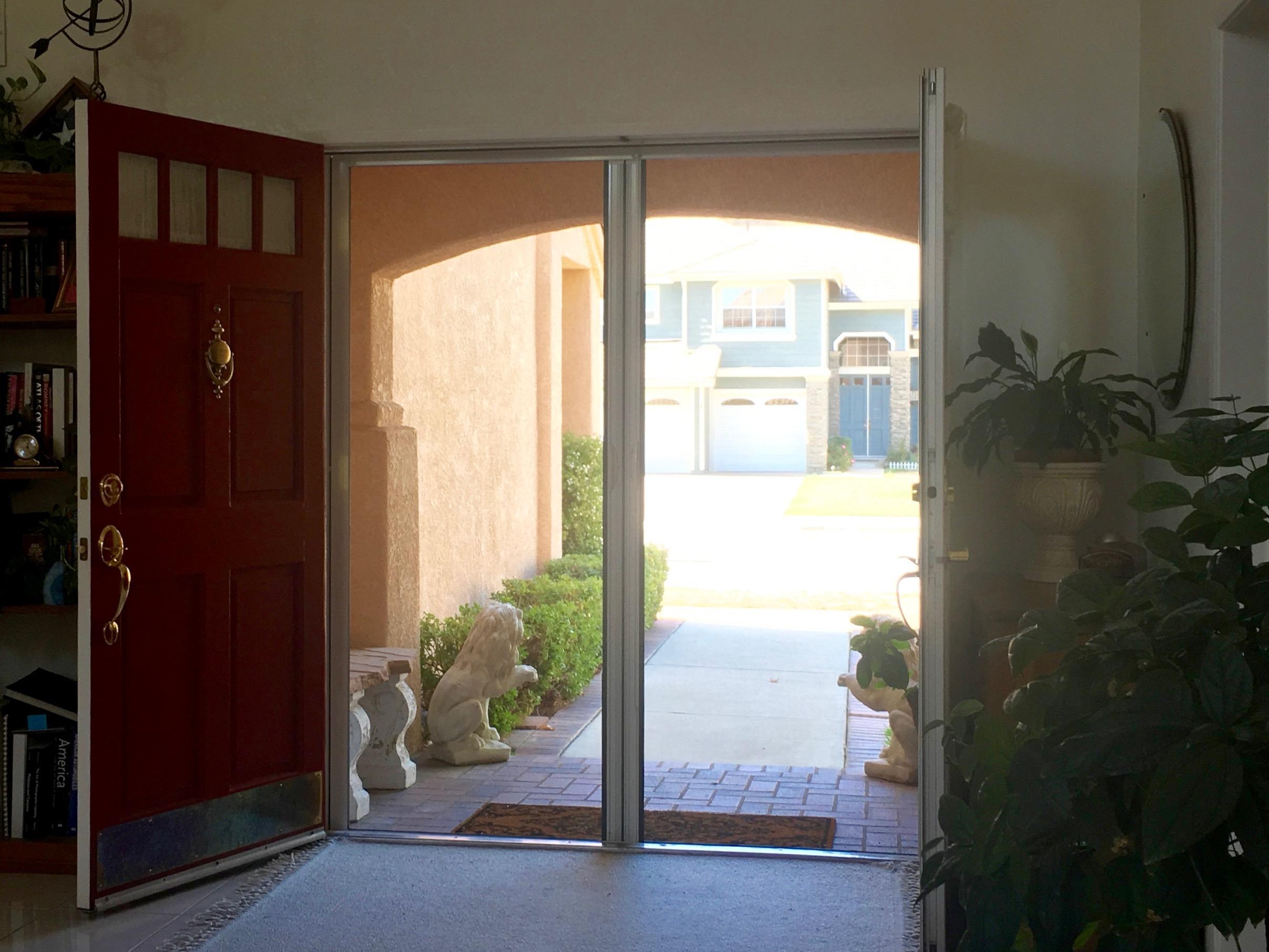 Genius Retractable Screen Doors - Simple Sojourns