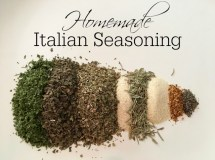 Homemade Italian Seasoning