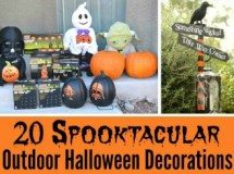 Spooktacular Outdoor Halloween Decorations