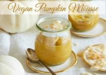 Vegan Pumpkin Mousse