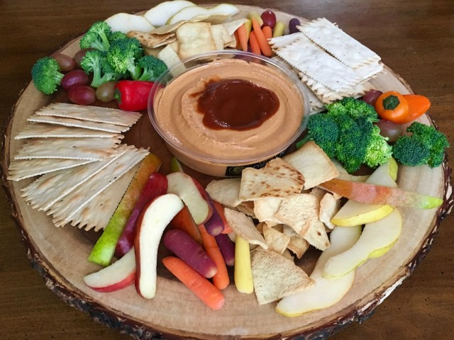 Holiday Hummus Platter - Simple Sojourns