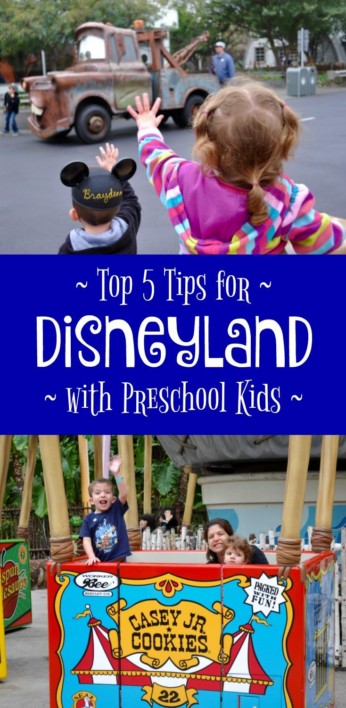 Top 5 Tips for Disneyland with Preschool Kids - Simple Sojourns