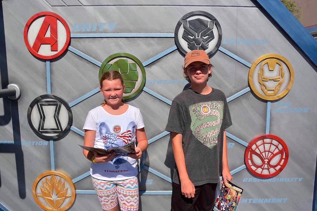 Disneyland Summer Of Heroes Hero Action Center - Simple Sojourns