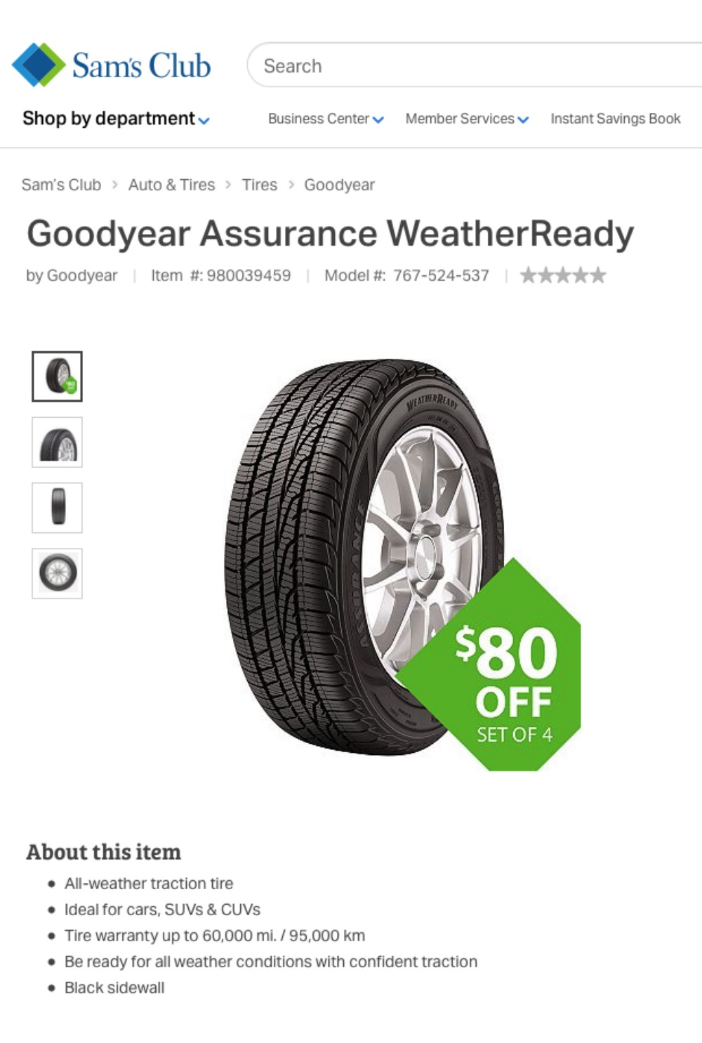 Goodyear Assurance WeatherReady - Simple Sojourns