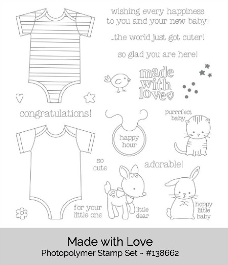 Made with Love Stamp Set