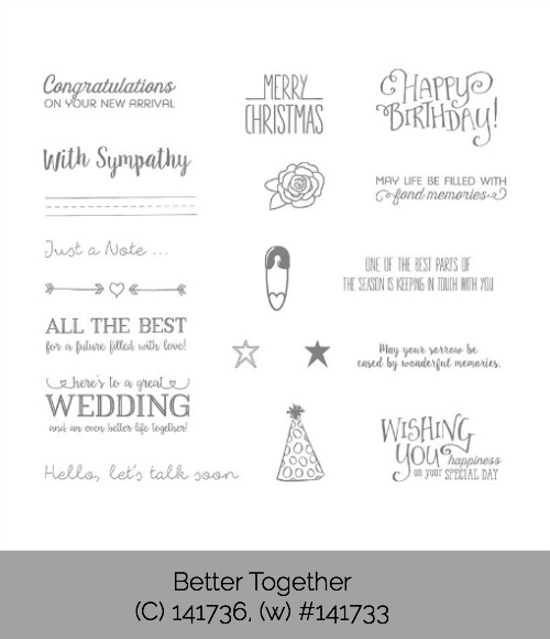 Better Together Stamp Set, Stampin' Up!