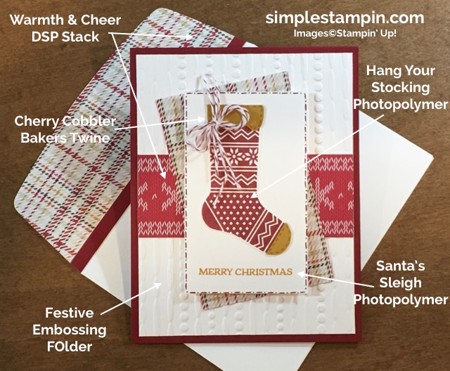 stampin-up-christmas-card-clean-and-simple-hang-your-stocking-santas-sleigh-warmth-cheer-dsp-stack-susan-itell-5-simplestampin