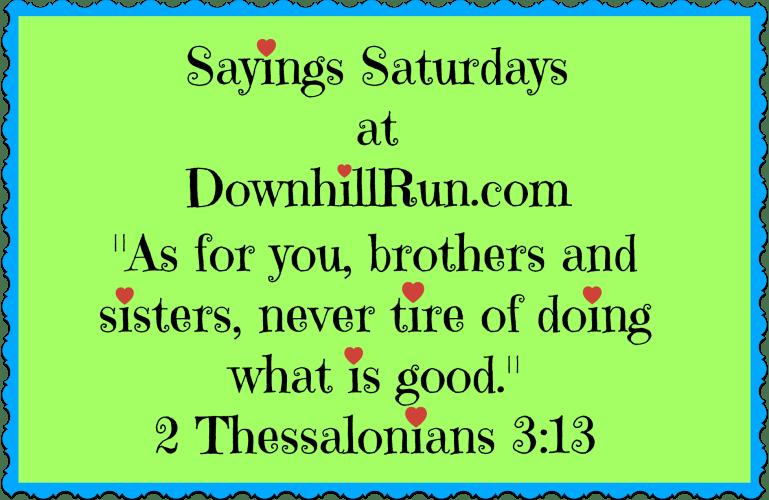 Sayings Saturdays – 10/31/2015